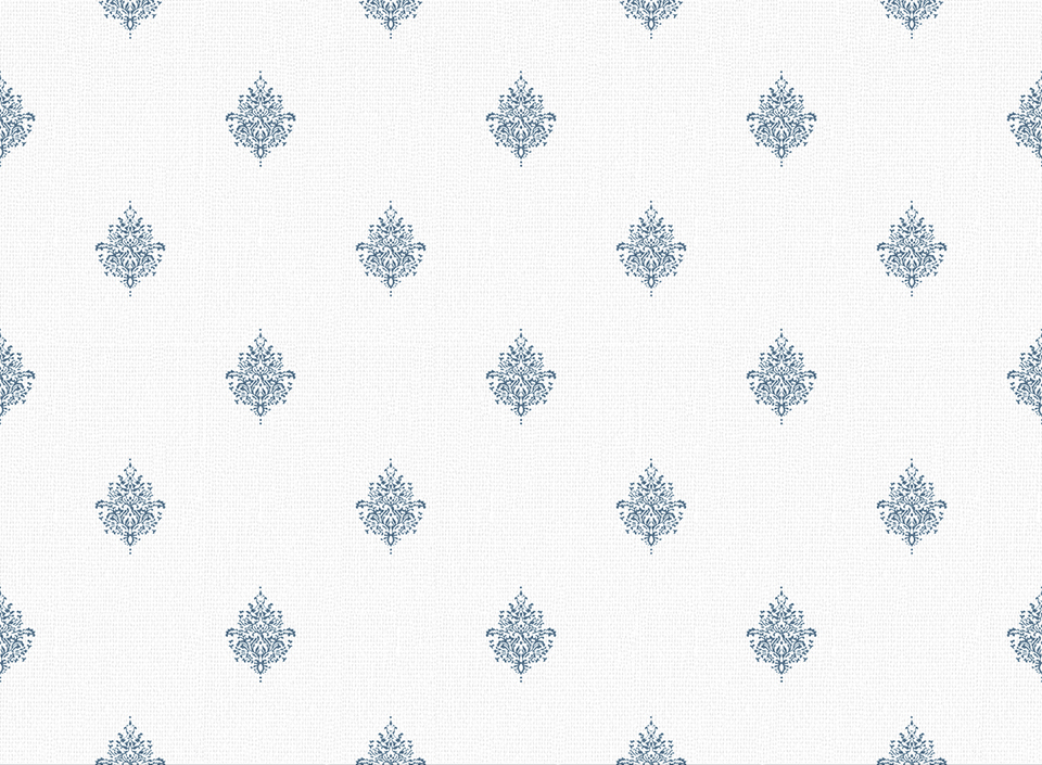 Textile - Print - Kousa - Bijou Blue