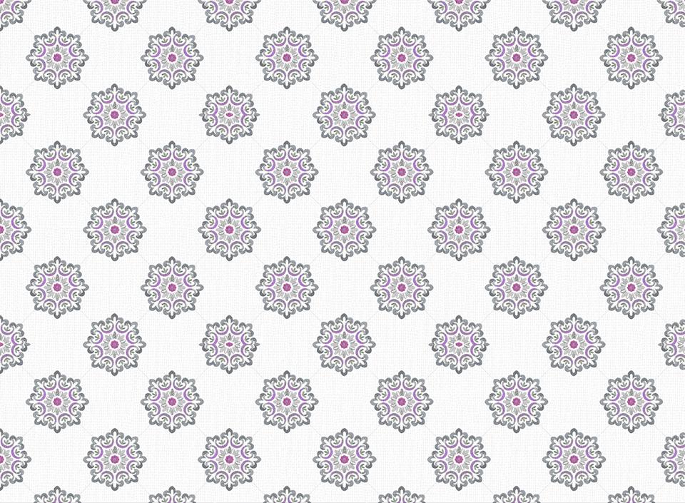 Textile - Print - Jaipur - Vintage Violet