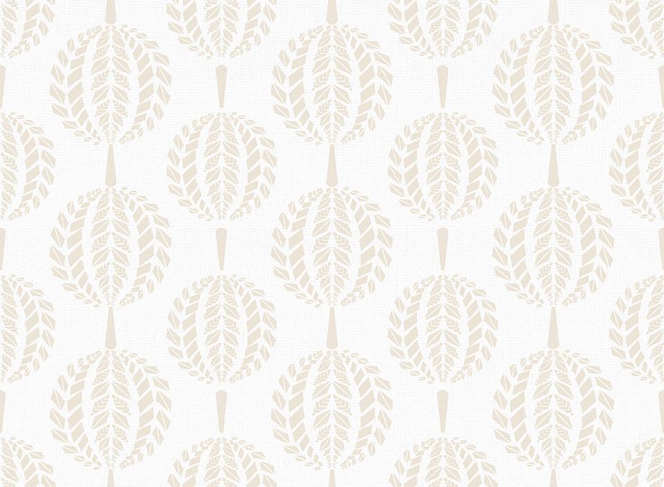 Textile - Print - Mandala - Parchment
