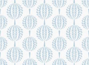 Textile - Print - Mandala - Pearl Blue