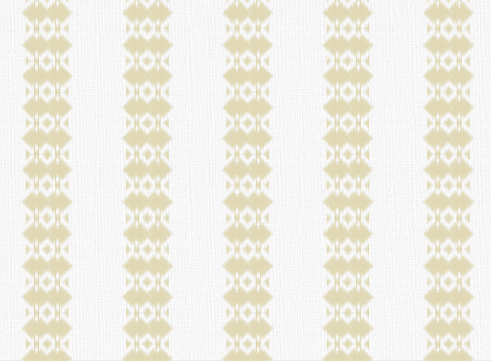 Textile - Embroidery - Ikat - Golden Haze
