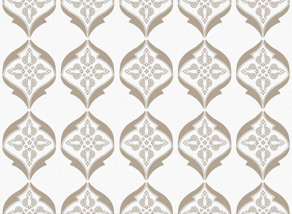 Textile - Print - Calio - Desert Taupe