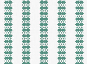 Textile - Embroidery - Ikat - Forest