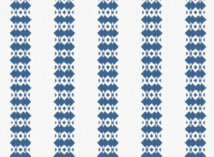 Textile - Embroidery - Ikat - Navy