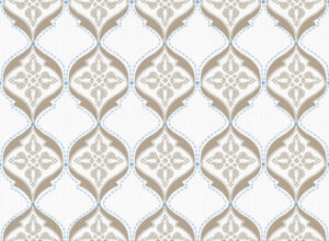 Textile - Print with Embroidery - Calio - Desert Taupe