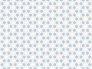 Textile - Print with Embroidery - Link - Forever Blue