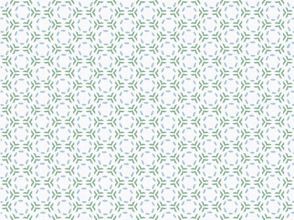 Textile - Print with Embroidery - Link - Jade Green